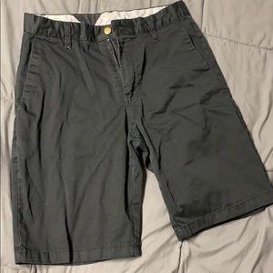Black Volcom shorts size 30